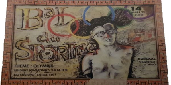 affiche olympie